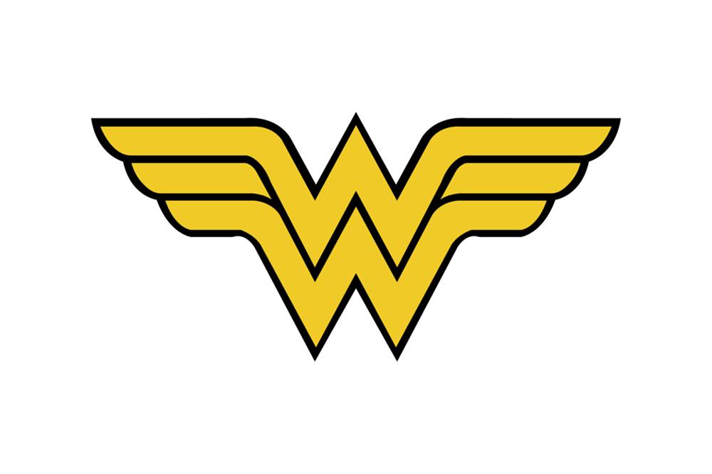 Top 10 Superhero Logos Symbols Logo Design Inspiration Wonder Woman Logo Wonder Woman Wonder Woman Party