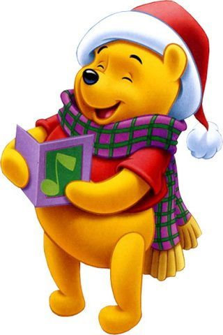 Disney Christmas Iphone Wallpapers Winnie The Pooh Christmas