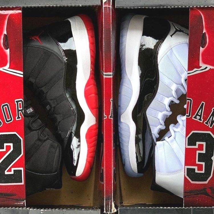 Jordan 11 Retro Concord 2020 Christmas Outifts Trendsoutfit Casual Shooes In 2020 Air Jordans Jordan 11 Concord Jordan 11