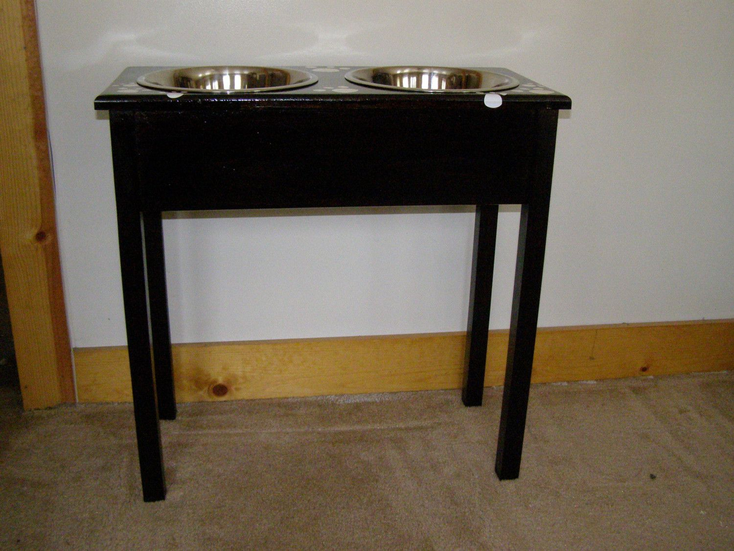 Hand Crafted Great Dane And Ex Large Breed Dogs Xxx Large Dog Food Bowl  Stand 30