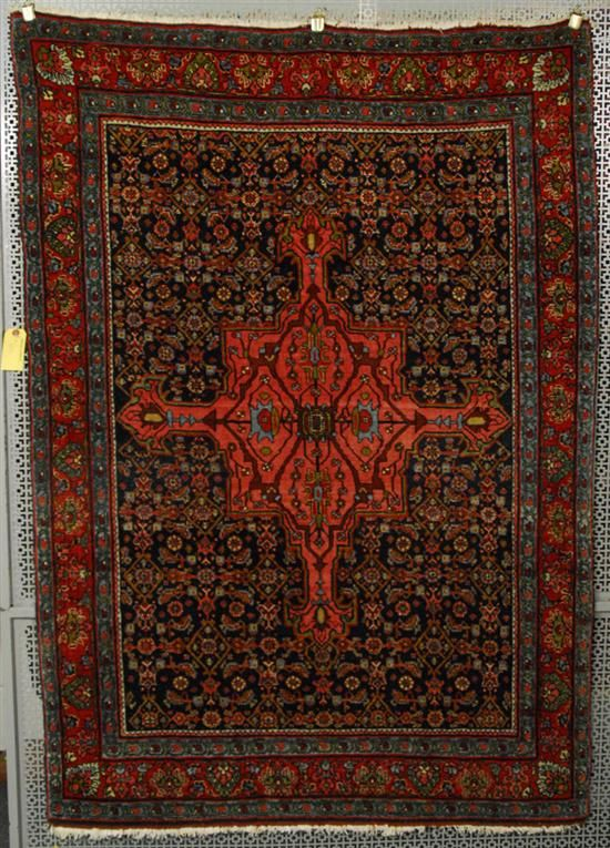 Grogan and Company | BIDJAR RUG, Persia, circa 1925  5 feet 3 inches x 3 feet 8 inches