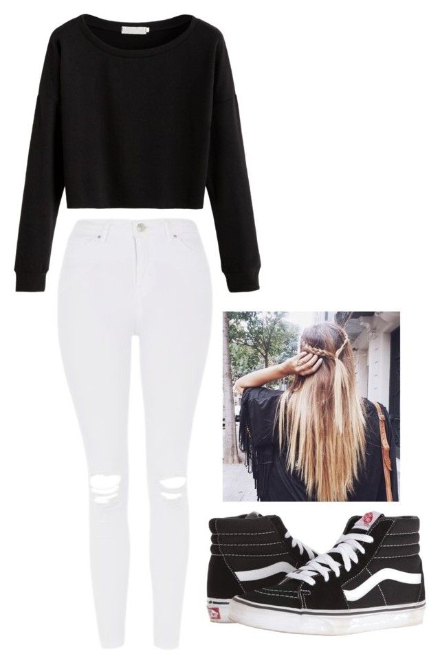 """""""I know what you did last summer"""" by love-5secondsofsummer ❤ liked on Polyvore featuring Topshop and Vans"""