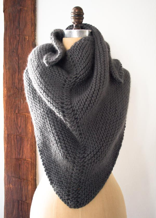 Dovetail Wrap free knit pattern | knitted scarves, cowls | Pinterest ...