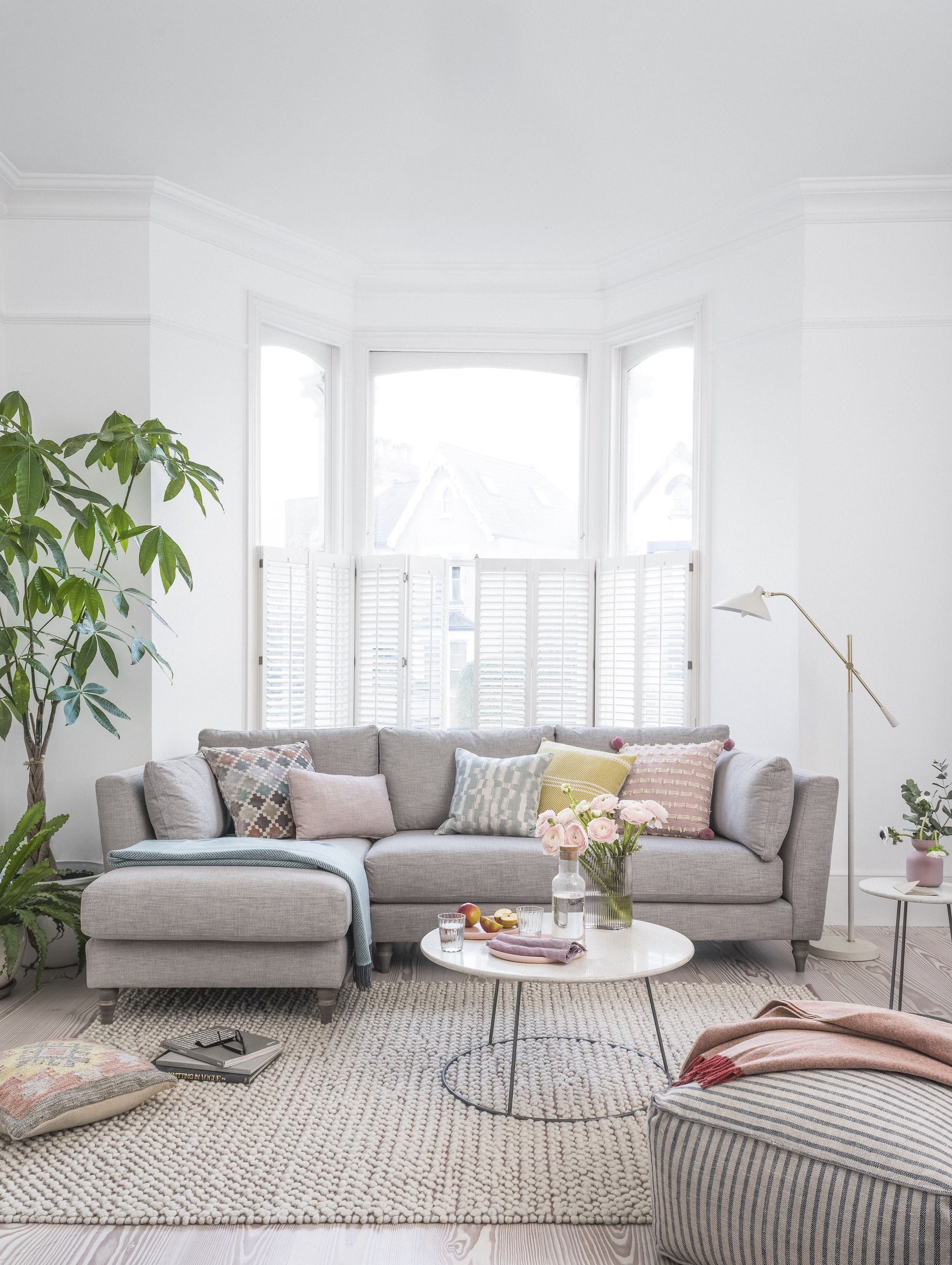 Meet Claudette: the new DFS x House Beautiful sofa  Living room