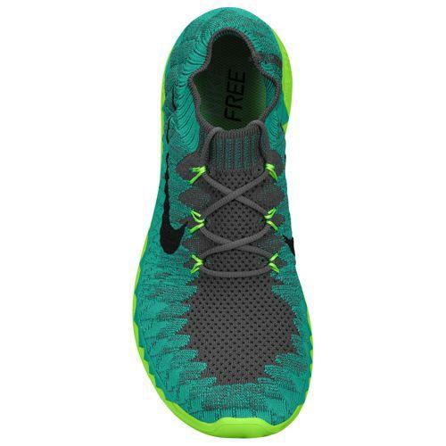 new product 8863f 63919 Nike Free 3.0 Flyknit Dark Grey Black Atomic Teal Electric Green