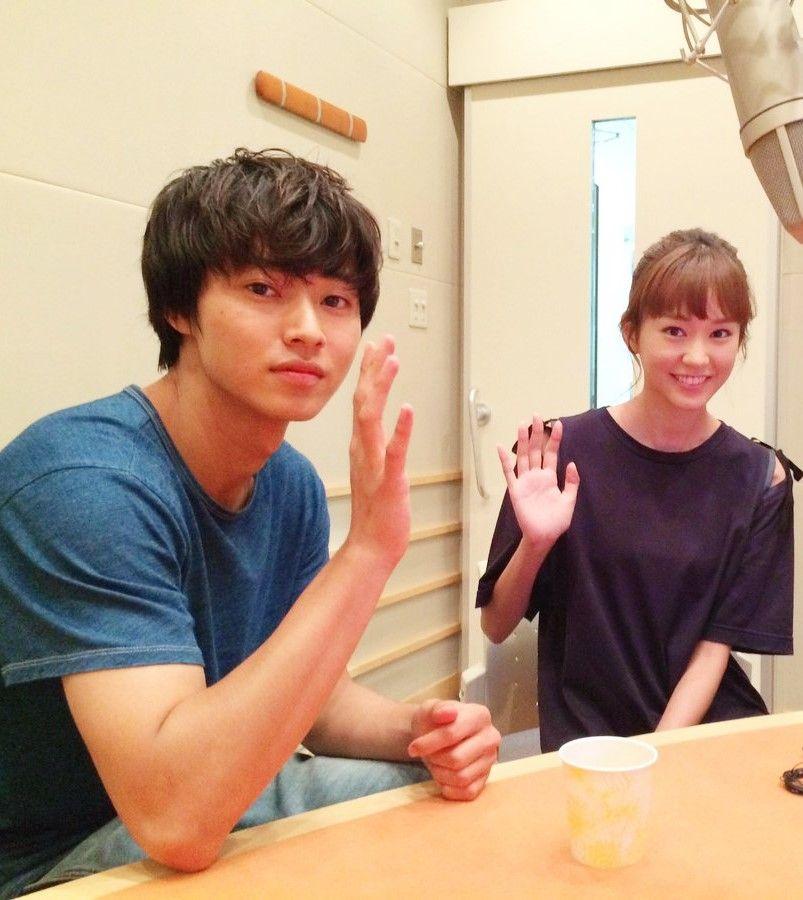 "ep.9 KentoYamazaki & Mirei attempt talk on the 2nd sound channel, J drama ""Sukina hito ga iru koto (A girl & 3 sweethearts)"", Sep/12/2016"