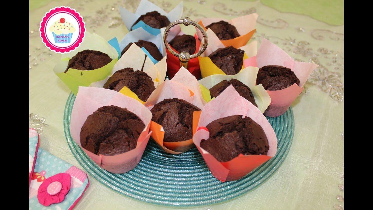 Damla Çikolatalı Sade Muffin Yapımı Videosu