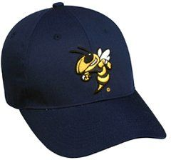 brand new d7d27 ddeb1 Oc Sports By Outdoor Cap Youth Unisex College Georgia Tech Yellowjackets Cap,  Price   14.50
