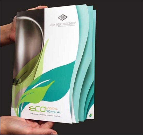 20 die cut design ideas for print with examples print businessarticles - Brochure Design Ideas