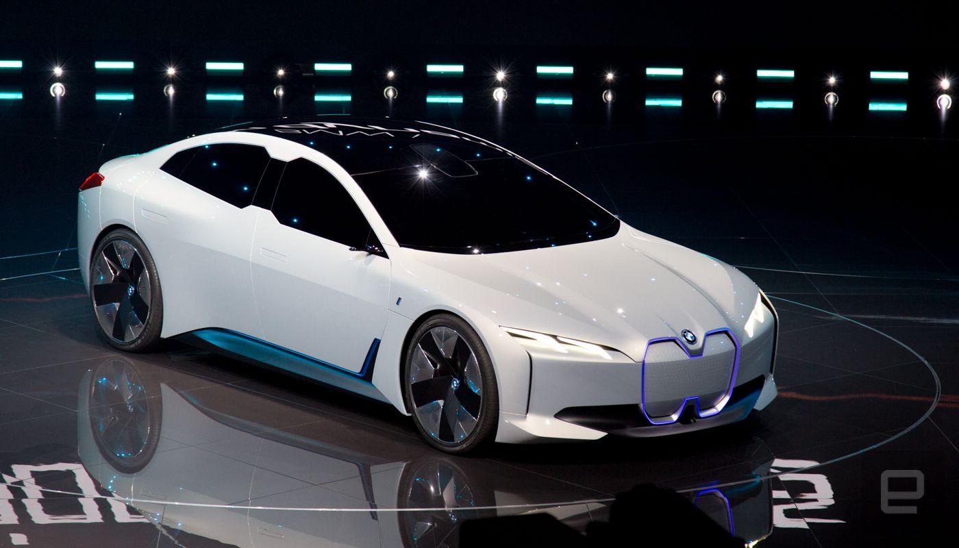 Bmw Unveils The Zippy I Vision Dynamics Electric Concept Car Bmw Concept Car Bmw Concept Bmw