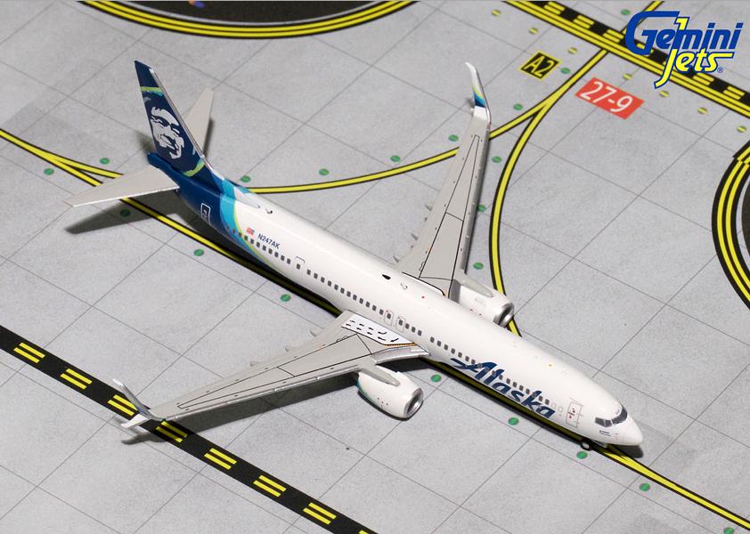 1/400 GeminiJets Alaska Airlines Boeing 737900s Diecast