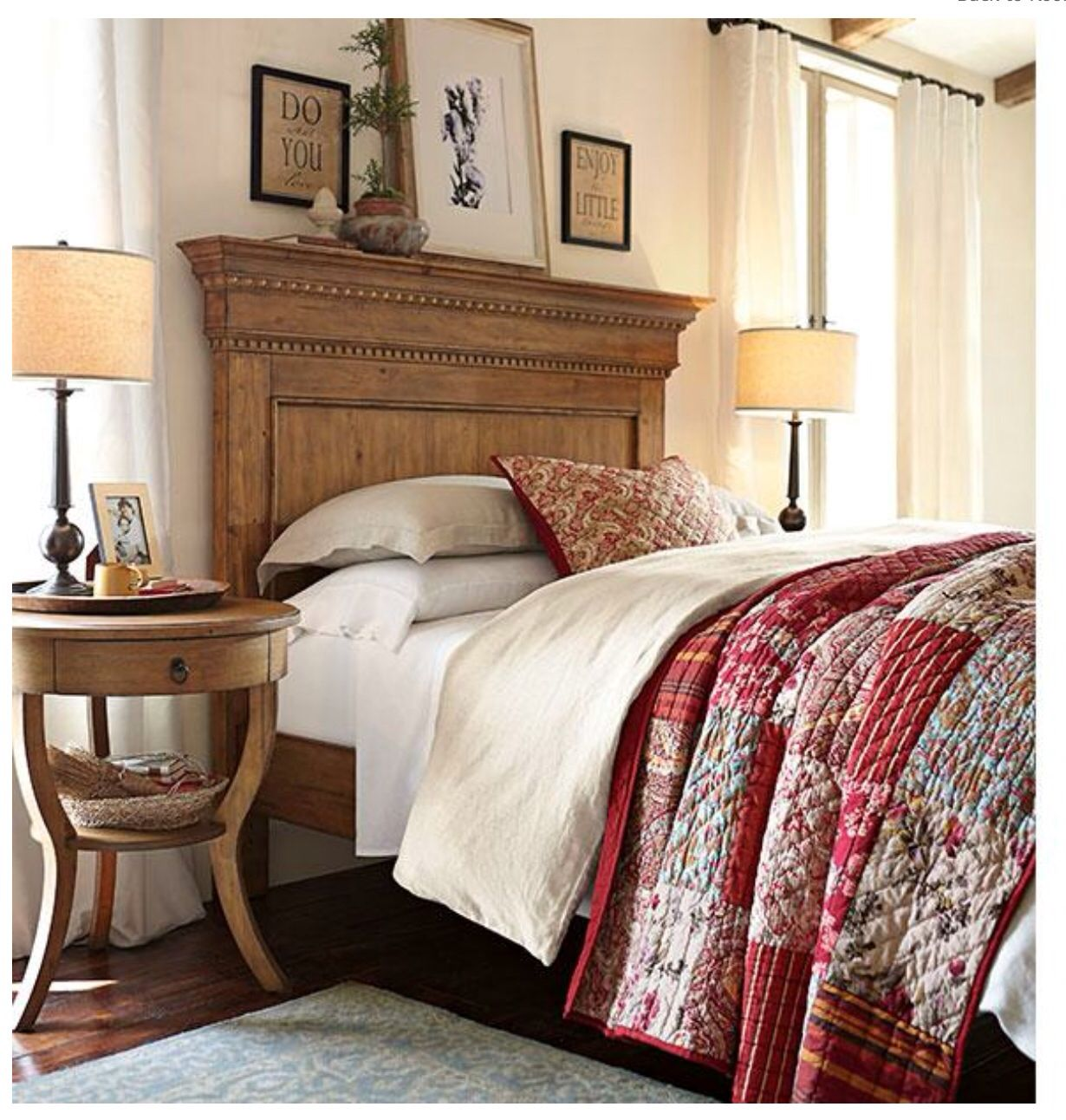 Pottery barn Bed!!! Pottery barn bedrooms, Bedroom decor