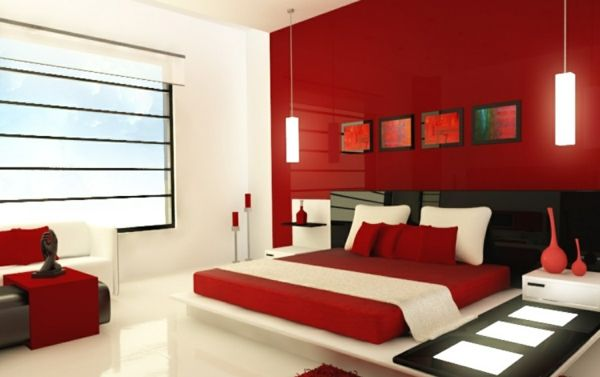 feng shui schlafzimmer einrichten farben rot feng shui bett - feng shui schlafzimmer