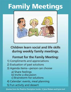 Photo of Family meetings are one of the most important tools parents can use to teach chi…