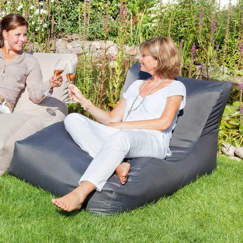 Pin Von Rita Auf Garten Sitzsack Sessel Outdoor Liege Garten Lounge