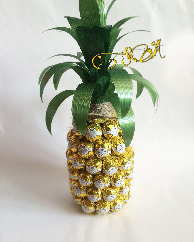 Все ананасы из конфет сделать своими руками 37