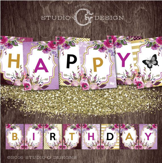 Pin By Cindy Soto On Birthday Banner (With Images