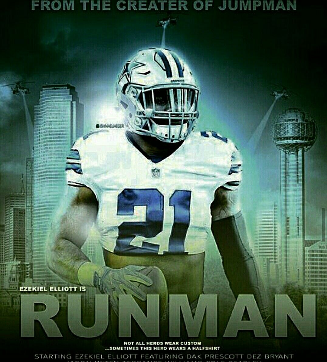 Dallas Cowboys Quotes Ha Runman Runman Runman Dallas Cowboys Dc4L Eze Ezekiel