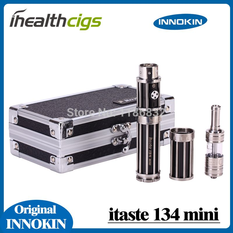 100% Original Innokin iTaste Mini 134 E Cigar Itaste 134 Mini starter kit huge vapor E-cigarette Mechanical Mod specification:1. Variable Wattage and Battery Level Indicator2. High compatibility 510 connector for the kit 3. ON/OFF Battery Switch a #Vaping http://www.vaporgasme.com/produk/100-original-innokin-itaste-mini-134-e-cigar-itaste-134-mini-starter-kit-huge-vapor-e-cigarette-mechanical-mod/