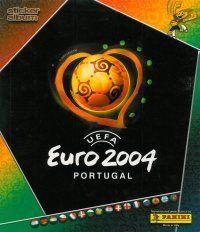 Panini Euro 2004 Album Cover