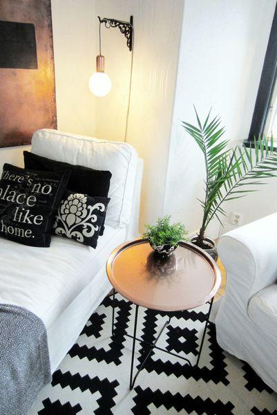 Prima brickbord,rusta,spraymålat,koppar   Design   Inredning, Vardagsrum DO-36