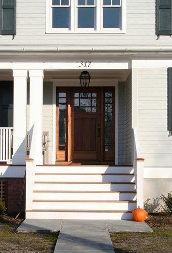 Entrance Detail   Traditional   Exterior   New York   Richard Bubnowski Design  LLC