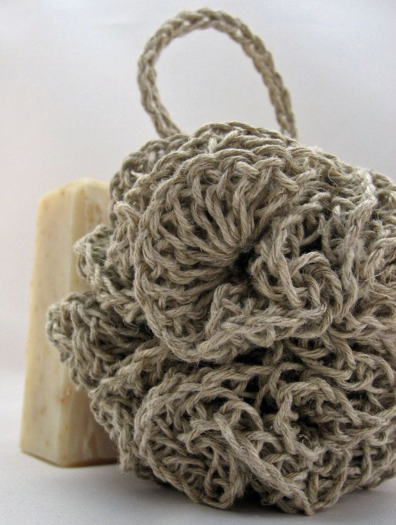 professional sale hot product buying cheap Organic Hemp Bath Puff. #hemp #I love hemp | Crochet home ...