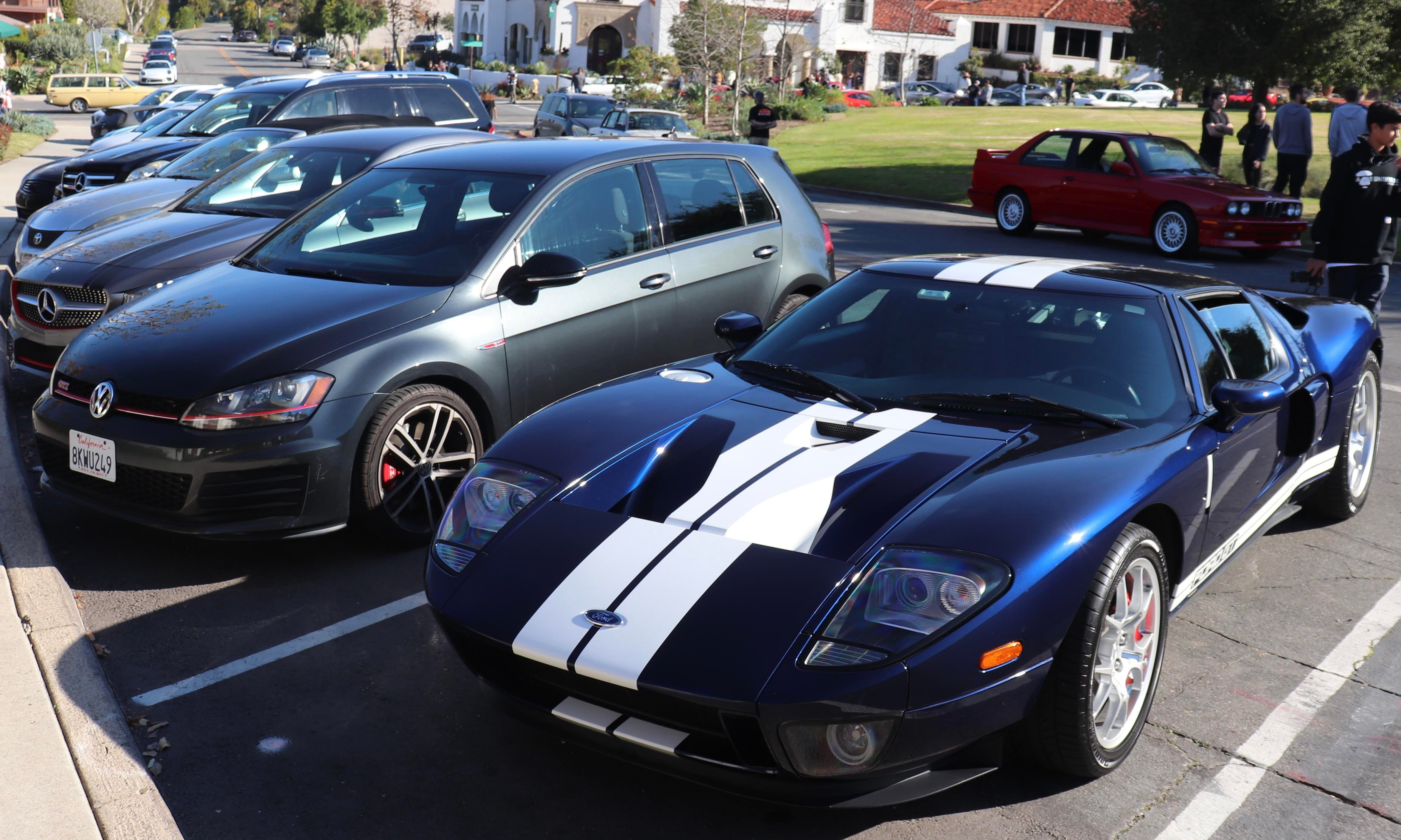 Parked Next To Doug Demuro S Ford Gt At Today S Cars And Coffee Ford Gt Cars Coffee Ford