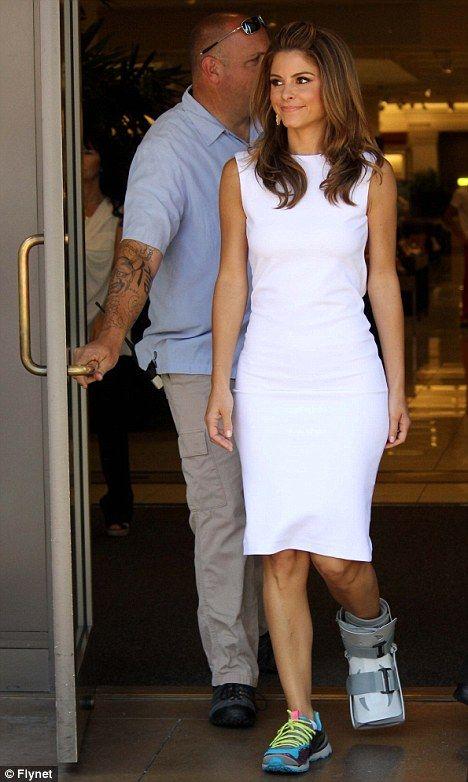 Image result for celebrity wearing walking boot   Walking