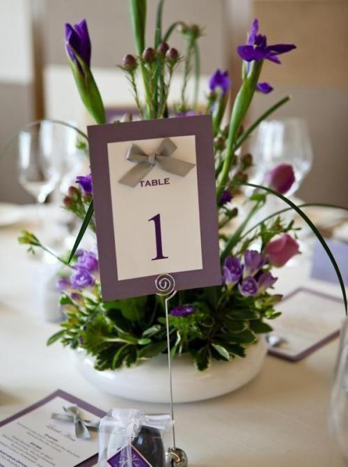 Números para las mesas