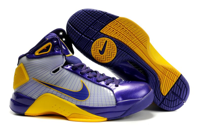 4dcc0aa93c7a96 Nike Hyperize Kobe Bryant Olympic 1 Blue White Yellow Shoes ...