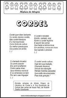Poesia Sobre Cordel Poema De Cordel Leitura De Cordel Texto De