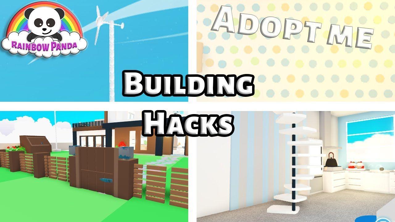 Adopt Me Tutorial Adopt Me Building Hacks Youtube Unique House Design Home Roblox Adoption