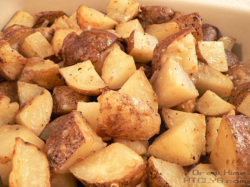 Roasted Parmesan Peppercorn Potatoes - How To Cook Like Your Grandmother