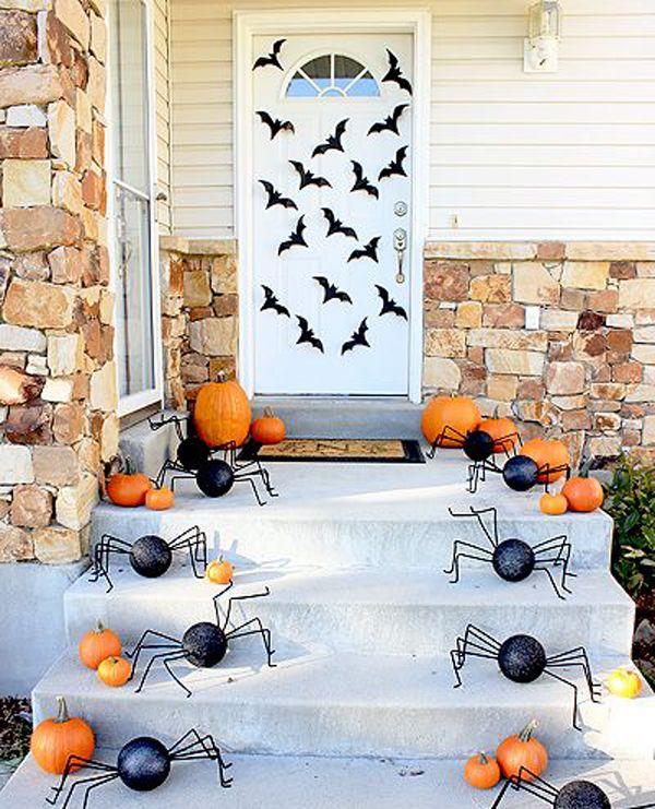 elegant-halloween-front-door to Do Halloween Pinterest - elegant halloween decorations