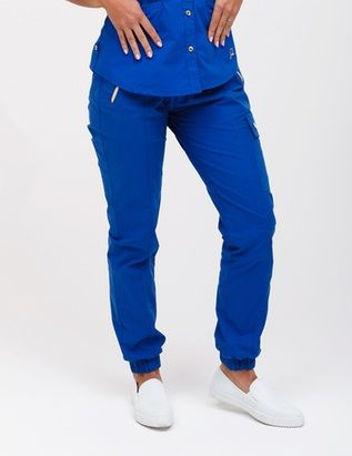 4ef246c8bf9 The Jogger Pant in Royal Blue is a contemporary addition to women's medical  scrub outfits. Shop Jaanuu for scrubs, lab coats and other medical apparel.