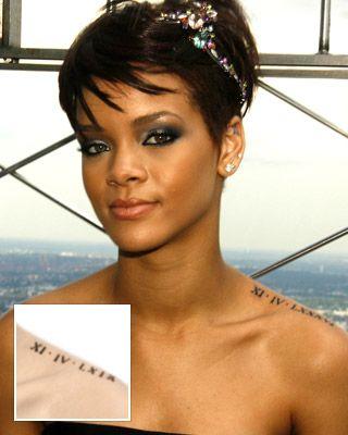 I want Dawson's birthdate (With images) | Rihanna tattoo ...