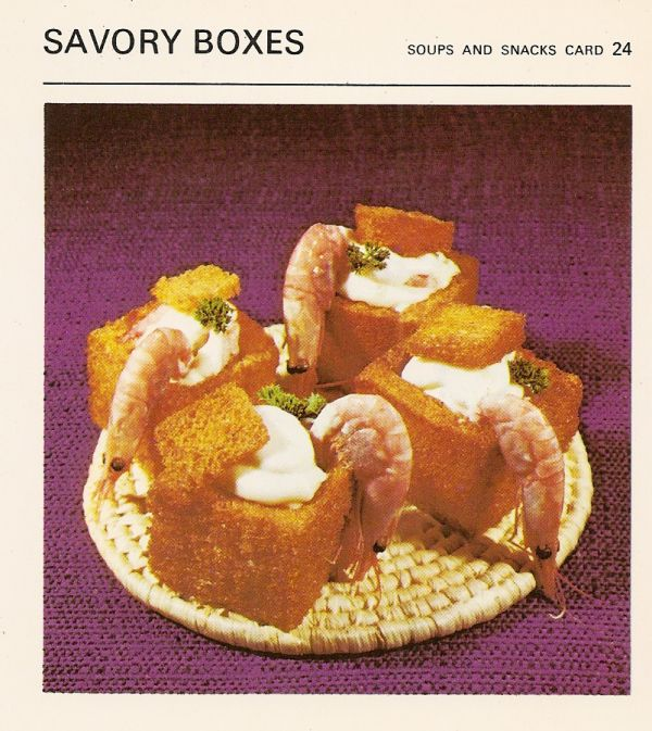 Savopry boxes snack vintage recipe card these are fried bread boxes bad and ugly of retro food canadian gut bombs recipe cards savory boxes i bet they are forumfinder Images