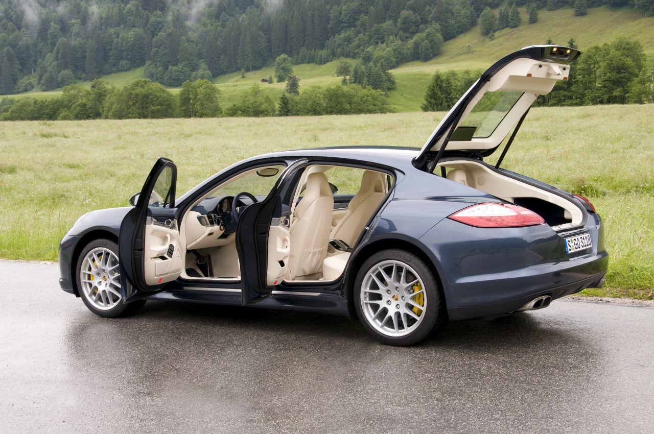 4 Door Porsche Panamera  4 Door Sports Sedan Omg... This Car Needs