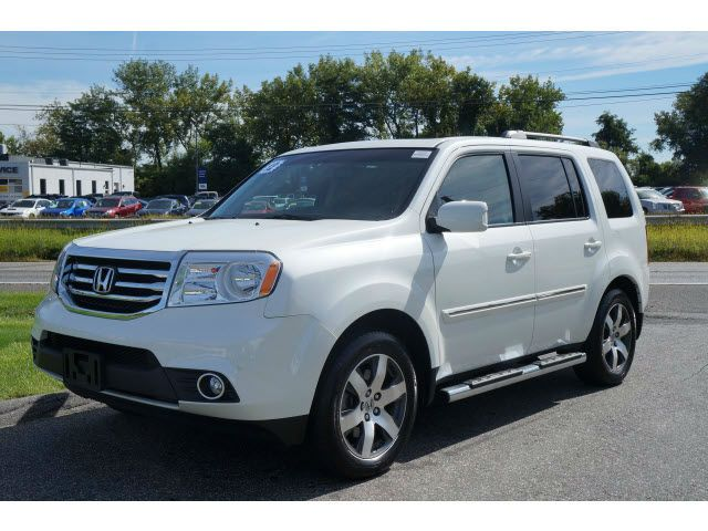 2017 Honda Pilot Touring White When We Have Another Child Need A Car Like This