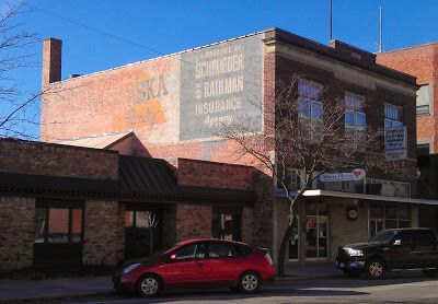Schroeder And Rathman Insurance Company Ghost Sign In Grand Island