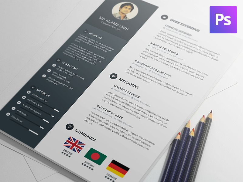 Free Resume Template Template - resume template for it