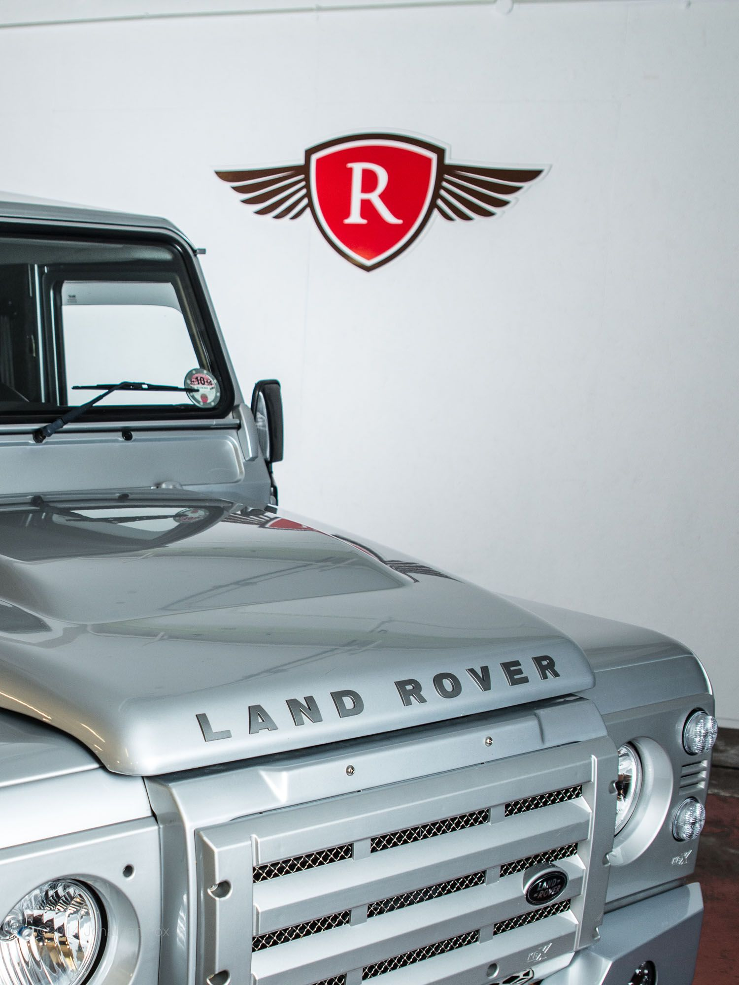 Land rover defender www.ruskindesign.co.uk with ruskin