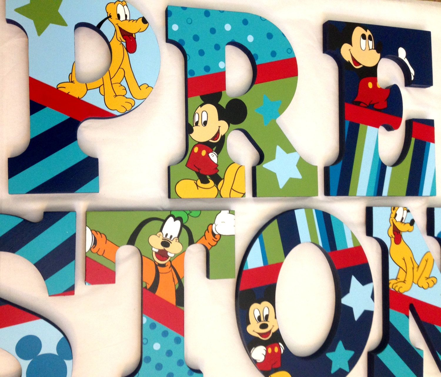 Personalized Wooden Wall Letters for Nurseries and Kids ...