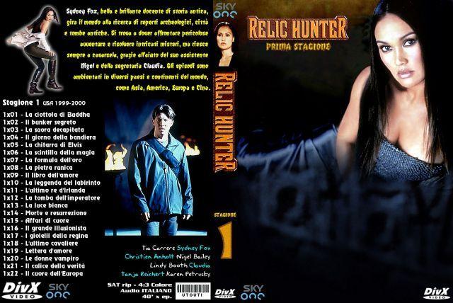 Relic Hunter Stagione 1 Serie Tv Dvd Galleria Cover