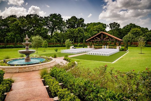 A Truly Elegant Wedding Venue Near Katy Tx The Springs Event In Brookshire This Particular Photo Is Of Outdoor Ceremony Site At Our Beautiful