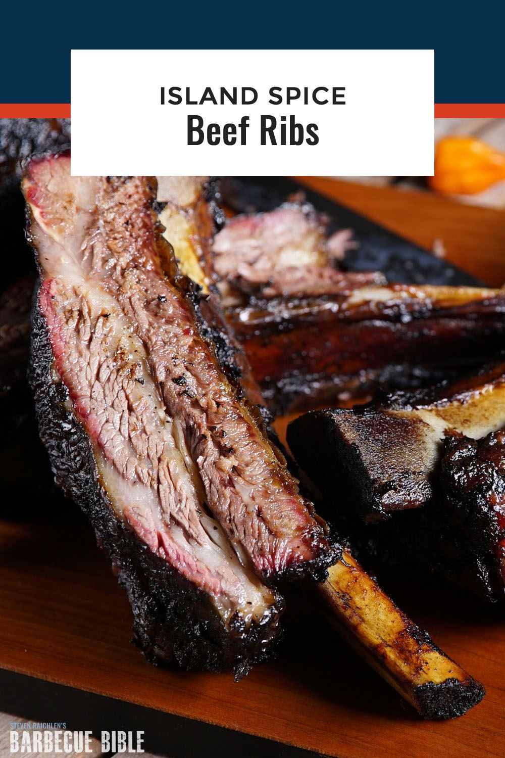 Island Spice Beef Ribs This Ribs Recipe With A Fresh Herb And Chili Spice Paste Is An Homage To The West Indian Commun Beef Ribs Recipe Rib Recipes Beef Ribs