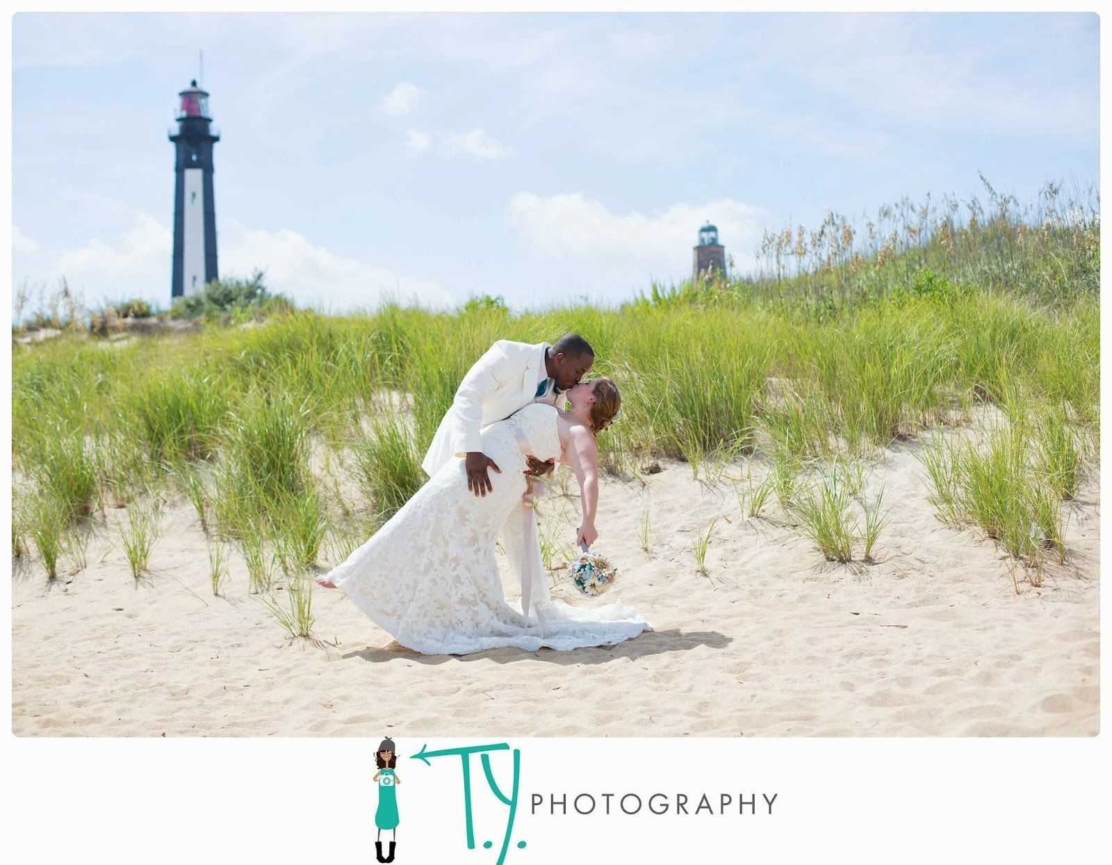 Cape Henry Lighthouse Wedding Isaiah Raven T Y Photography Virginia Beach Photographer