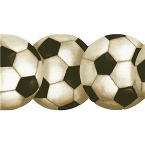 sports wallpaper border Soccer Ball Wallpaper Border