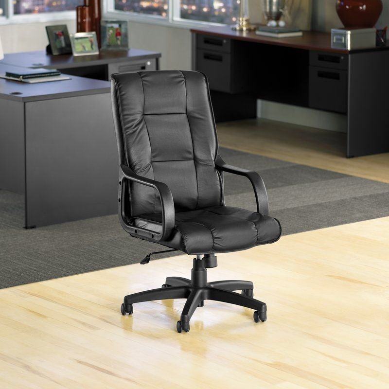 Cheap good quality highback leather executive chair by